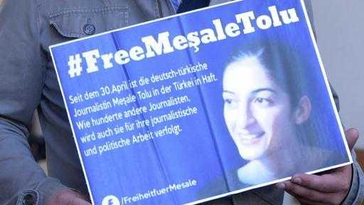 Türkei: Deutsche Journalistin Tolu kommt frei